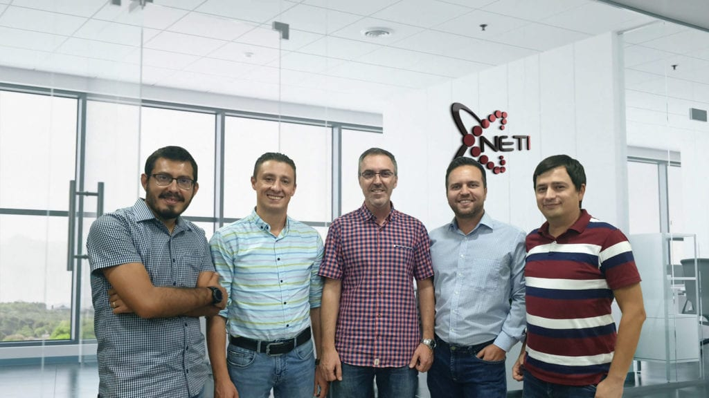 NETi team photo
