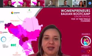 Pitch at Womenpreneurs Balkan Bootcamp