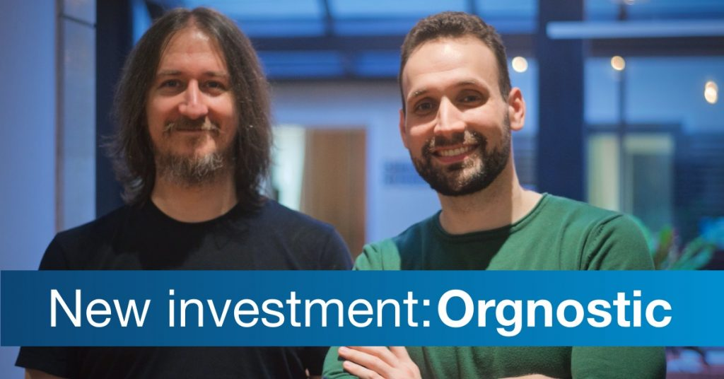Orgnostic Co-Founders Igor Bogicevic CTO and Luka Babic CEO